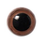 H220-116-2  クリスタルアイ 16.5mm ブラウン