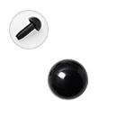 H220-604-1  山ボタン 4.5mm