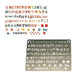 H410-158  アルファベット