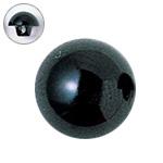 H430-301-13  プラスチックアイ 13mm ブラック