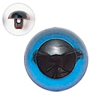 H430-303-13  プラスチックアイ クリスタルカラー 13mm クリスタルブルー