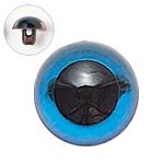 H430-303-15  プラスチックアイ クリスタルカラー 15mm クリスタルブルー