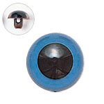 H430-308-12  プラスチックアイ マットカラー 12mm ブルー