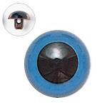 H430-308-15  プラスチックアイ マットカラー 15mm ブルー