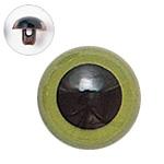 H430-310-15  プラスチックアイ マットカラー 15mm グリーン